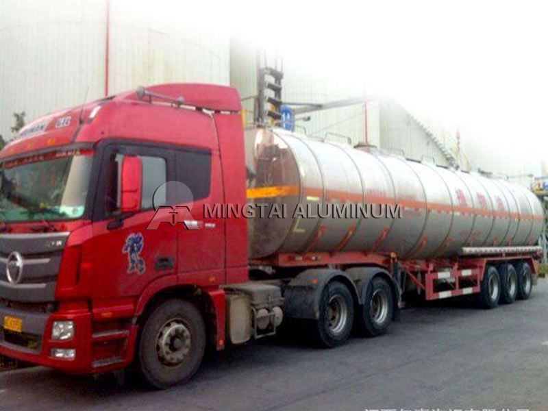 Tanker Aluminum Plate