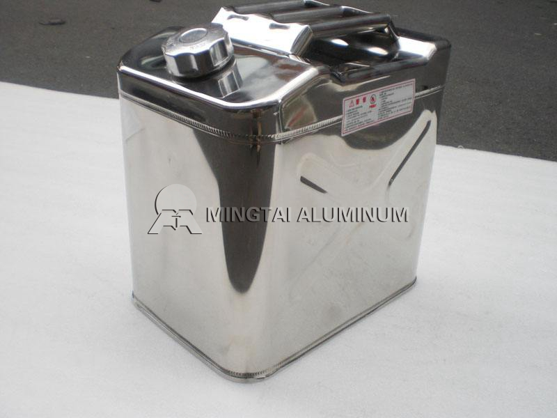 Fuel tank aluminum