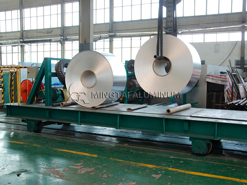 Transformer aluminum strip (2)
