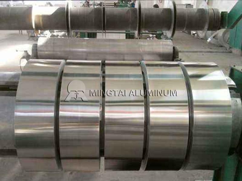 Transformer aluminum strip