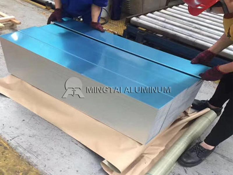 Anodized aluminum plate
