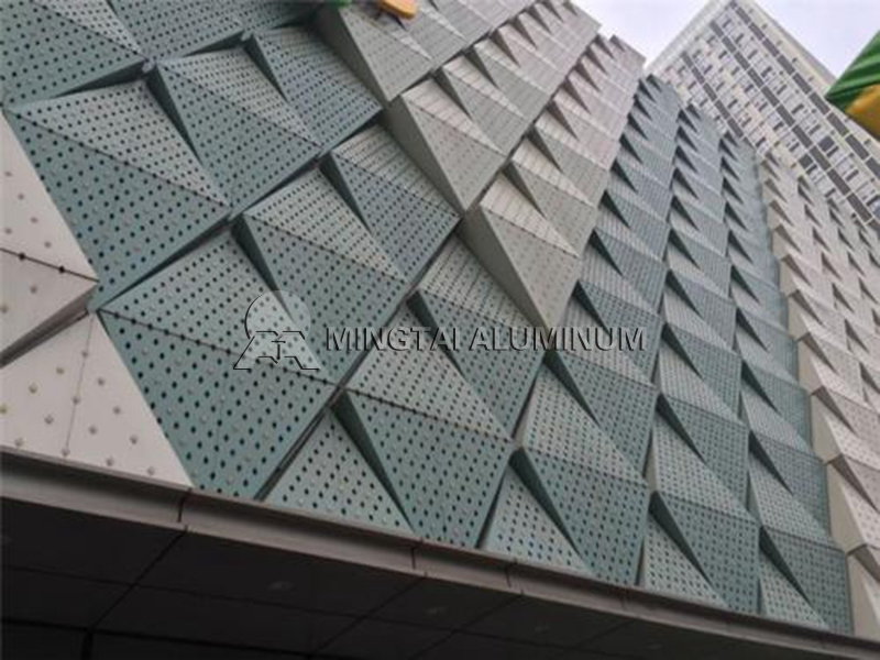Curtain wall aluminum (2)