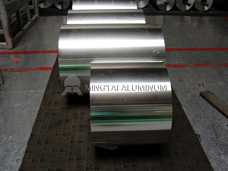 8011 Aluminium Closure Sheet Foil