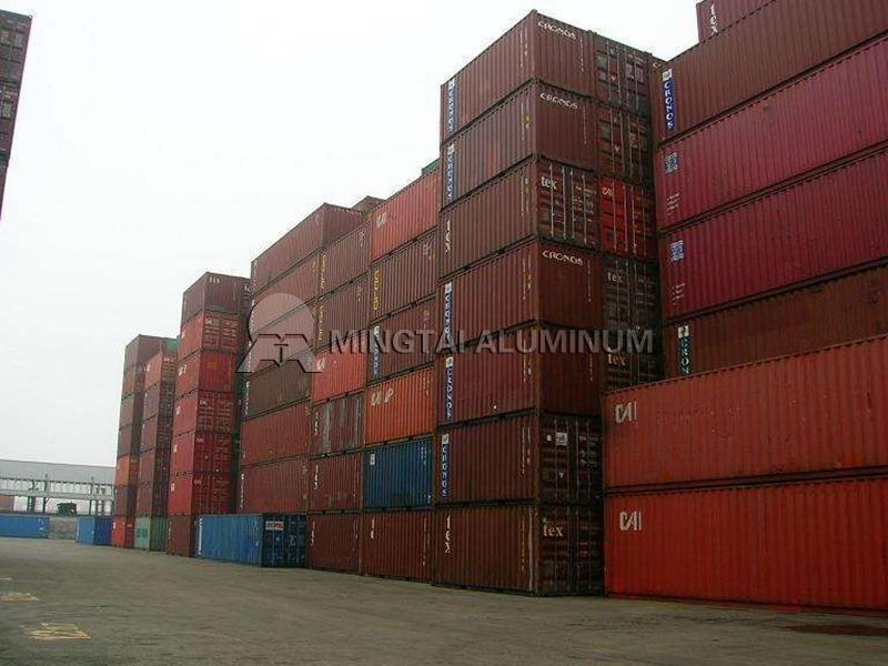 Container aluminum