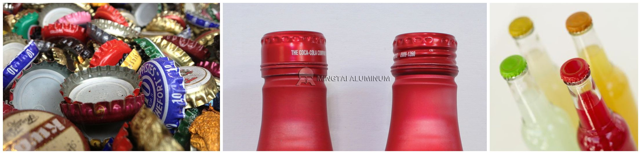 aluminium bottle closure sheet