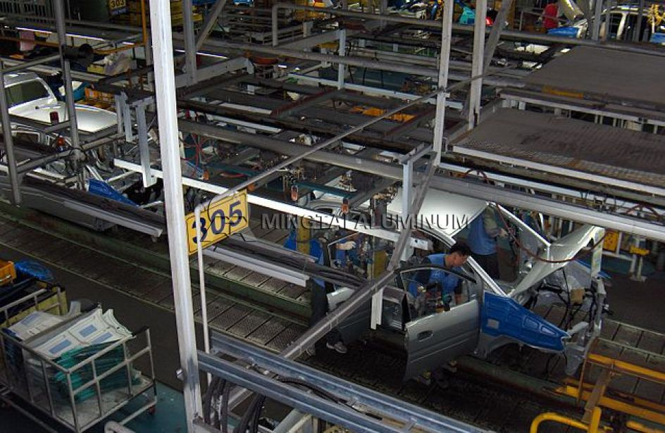 Automobile Body Aluminum sheet_