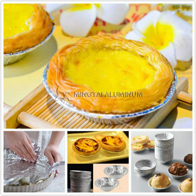 egg tart mold disposable aluminum foil