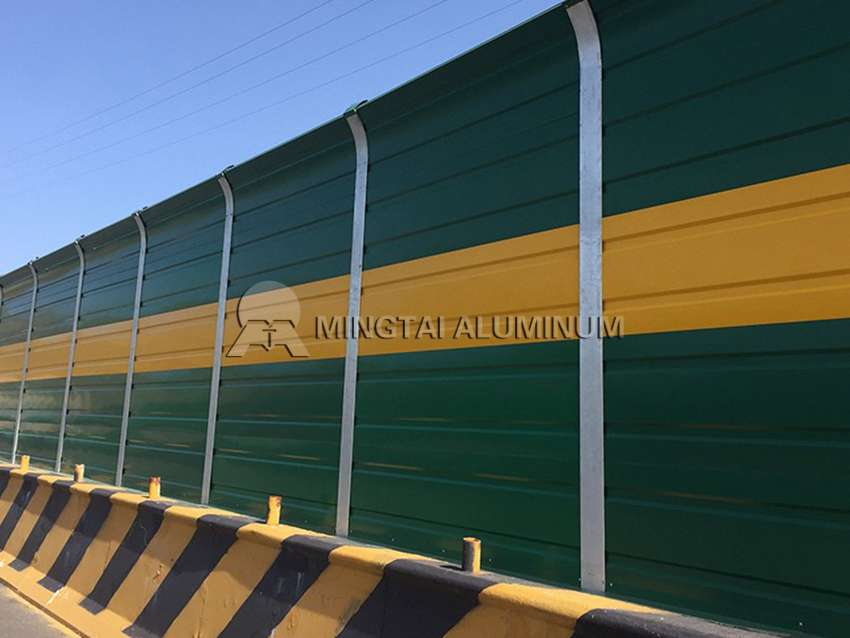 Railway soundproof aluminum plate (4)