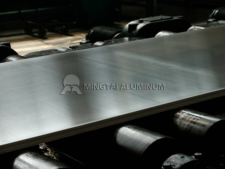 Stamped aluminum sheet (1)