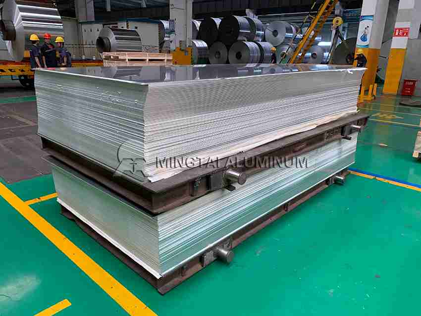 5mm aluminium sheet for car chassis