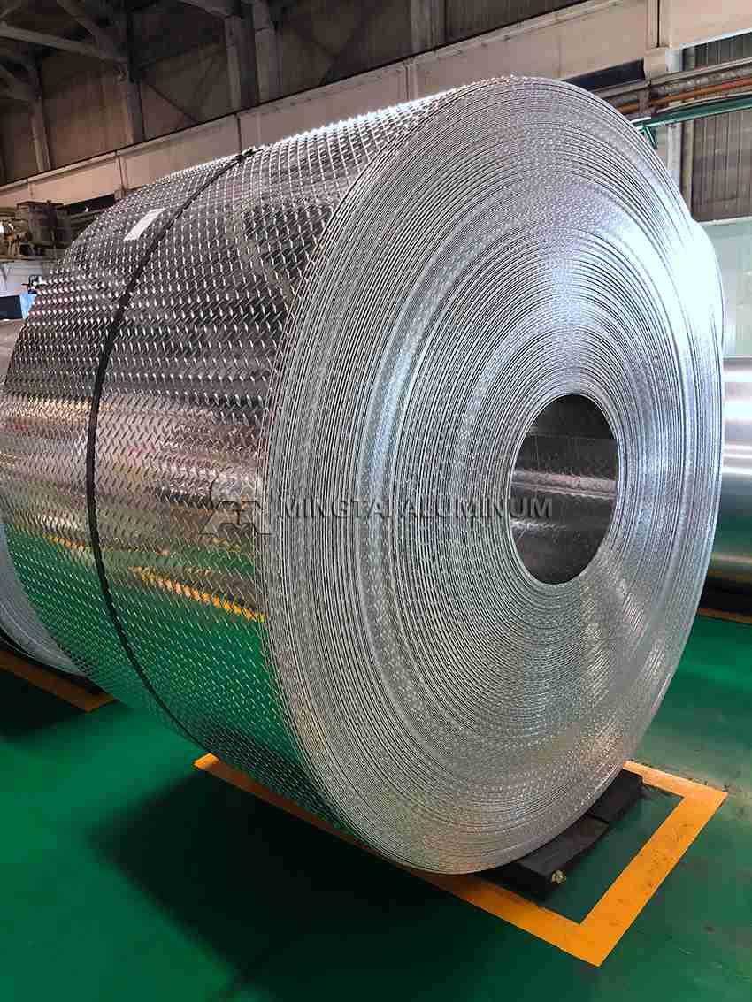 48 x 96 Aluminum Diamond Plate
