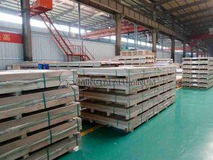 Aluminum sheet packaging