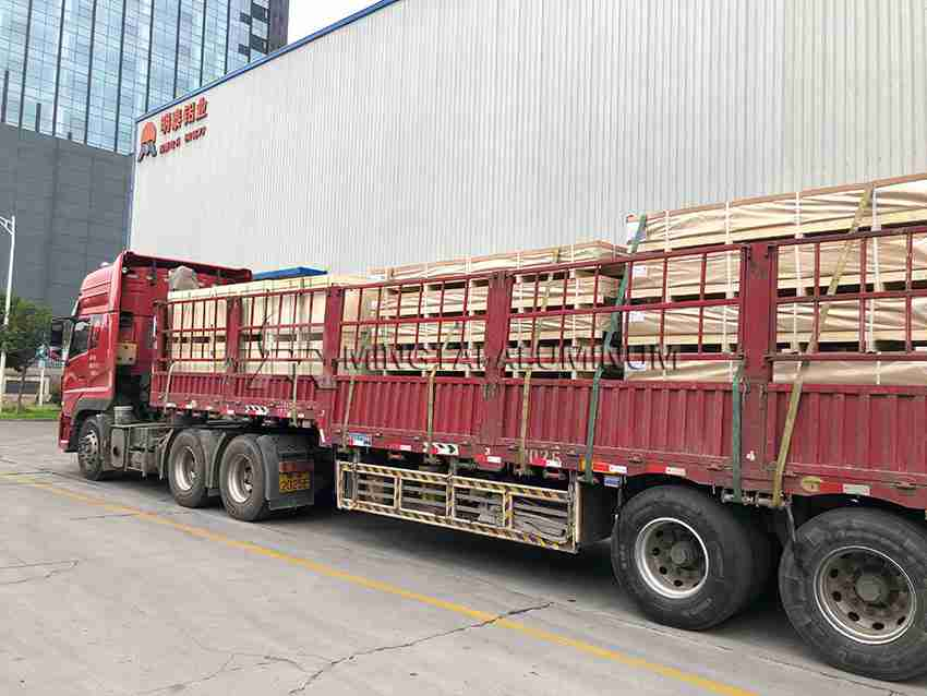 Aluminum Sheeting for Trailers