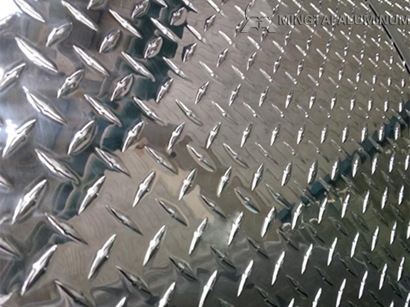 aluminium tread plate 2mm
