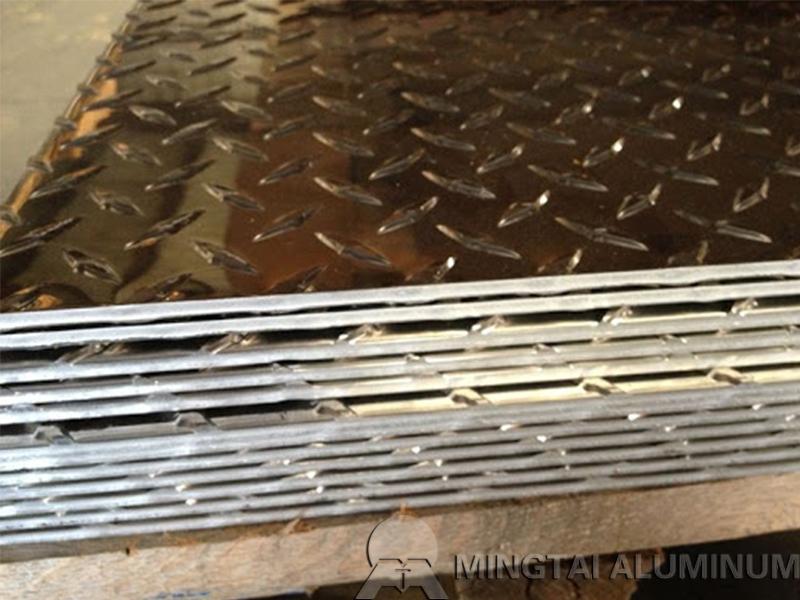 0.25 aluminum diamond plate 4x8 sheet